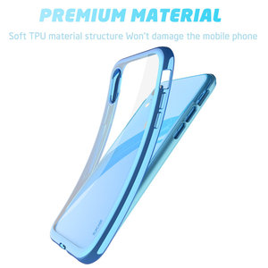 Image 4 - SUPCASE For iPhone XR 6.1 inch Case UB Electro Full Body Clear Plated Glitter Slim Hybrid Cover with Built in Screen Protector
