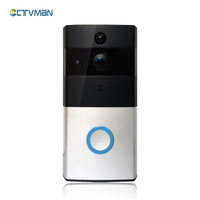 CTVMAN Wireless Video Door Phone HD PIR WIFI Doorbell Intercom 720P IP Camera Battery Power Audio