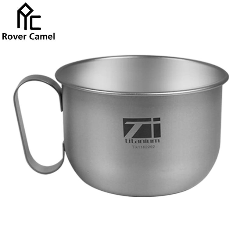 nuevo modo de fabricación rover camello titanium taza de café al aire libre y a