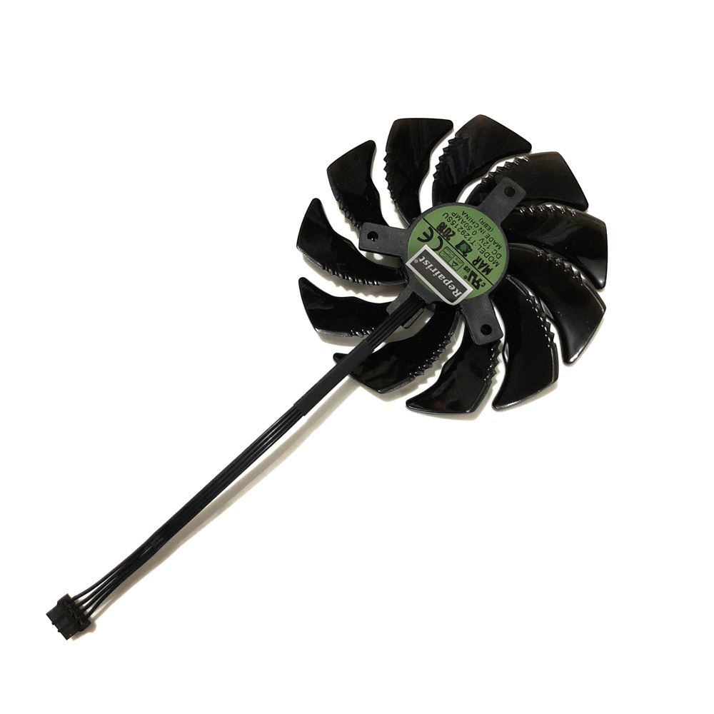 Long Cable GTX 1080/1060/1070 GPU VGA Cooler Fan For GIGABYTE GeForce GTX1080 GTX1070 Mini ITX Graphics Cards As Replacement image