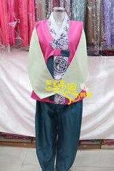 Vestido de Hanbok hecho a medida coreano tradicional hombre Hanbok nacional fiesta trajes