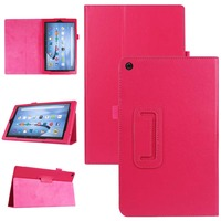 New 2 Folding Flip Stand Holder PU Leather Case Protective For Amazon Kindle New Fire HD 10 HD10 2015 10.1