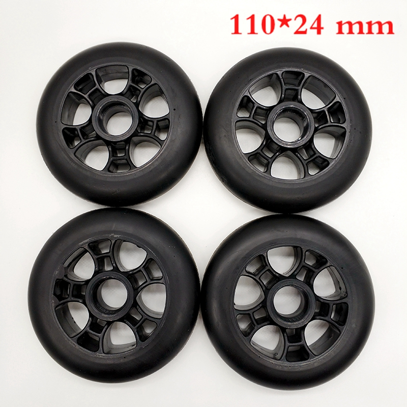 Free Shipping Speed Skating Wheels  110 Mm  8 Pieces / Lot