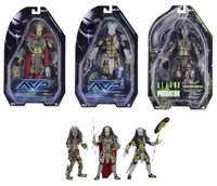 NECA AVP Aliens vs. Predator Young Blood Predator / Serpent Hunter /Elder Predator PVC Action Figure Collectible Model Toy