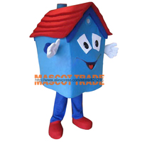 cosplay costumes House Real Tors Open House Event Halloween Mascot Costume Adult Mascot Costume Adult Fancy Dress Cartoon