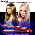 Kemei Fast Heating Flat Iron Hair Straightener Straightening Irons Styling Tools with 2m cable Professional Free shipping S5050