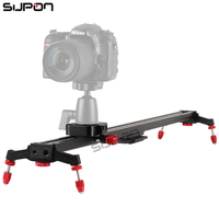 SUPON New 80cm Camera Slider DSLR Track Dolly Magic Tracks Video Stabilization Rail System For Nikon