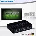 3x1 MINI HDMI Splitter 3 Порта Hub Box Автоматический Переключатель 3 в 1 Из Switcher 3D 1080 P HD 1.4 С Дистанционным Управлением