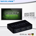 3x1 MINI HDMI Splitter 3 Port Hub Box Auto Switch 3 In 1 Out Switcher 3D 1080p HD 1.4 With Remote Control