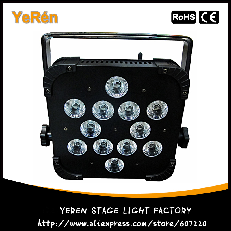 Led Slim Par Light Wireless DMX 12*15W RGBWA UV Light 6in1 for Disco & KTV Light DJ Party Stage Lighting