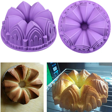 The small castle model silicone cake mould DIY baking tray 2014 special c storybooks 4 special cake