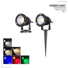 цены 12W LED Flood Light 110V 220V Outdoor Lighting IP65 Waterproof  LED Floodlight Street Spotlight IP65 Floodlight Outdoor Lights