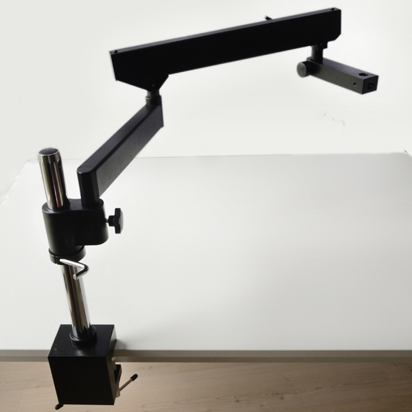 FYSCOPE  ARTICULATING ARM PILLAR CLAMP STAND FOR STEREO MICROSCOPES