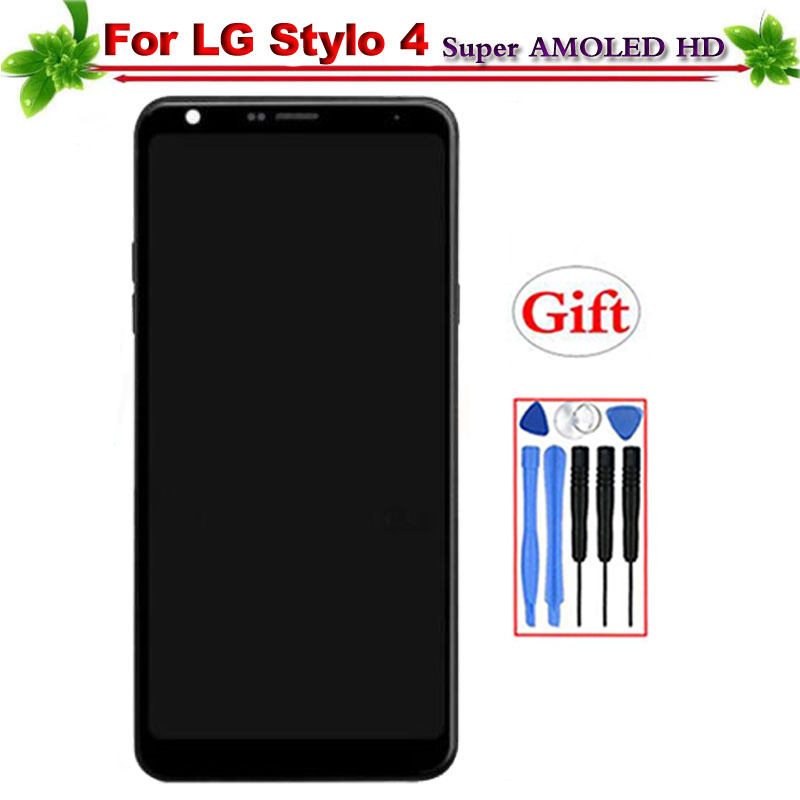 100% Tested for LG Q Stylo 4 Q710 Q710MS Q710CS LCD Display With Frame LCD Screen Touch Digitizer Assembly Replacement 6.2100% Tested for LG Q Stylo 4 Q710 Q710MS Q710CS LCD Display With Frame LCD Screen Touch Digitizer Assembly Replacement 6.2