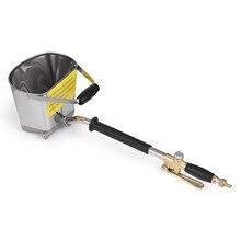 Sprayer-Machine Plaster Professional Shovel Stucco Hopper Ladle Wall-Mortar