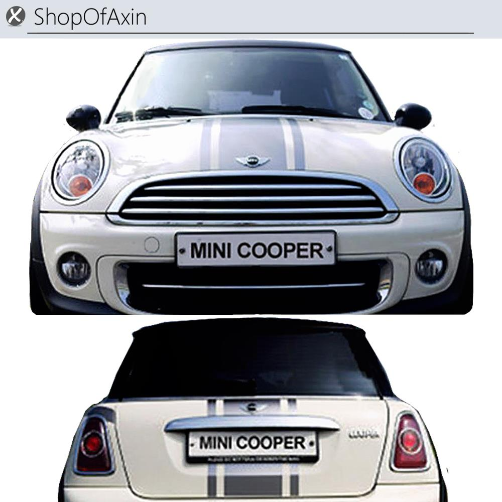 Car hood stickers and trunk luggage door decoration sticker for mini cooper clubman countryman hardtop r55 r56 r60 r61 f55 f56