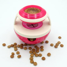 Pet Cats Training Exercise Fun Bowl Pets Dog Toys Tumbler Leakage Food Ball Tasty Toy Feeder Goods for Products Dogs