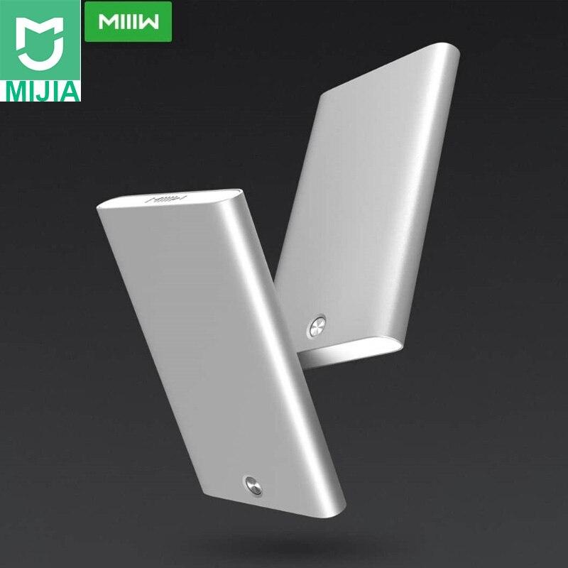 Xiaomi Youpin MIIIW держатель для карт нержавеющая сталь Серебристый Алюминиевый Чехол для кредитных карт для женщин мужчин ID Card Box чехол Карманный Кошелек купить на AliExpress