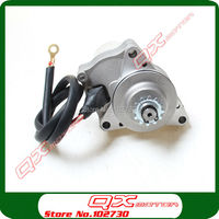 3 Bolt Upper Electric Starter Motor For 50cc 70cc 90cc 110cc 125cc 4 Stroke Electric Start