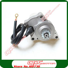3 Bolt Upper Electric Starter Motor For 50cc 70cc 90cc 110cc 125cc 4-Stroke Start Engine ATV Quad Go kart Buggy