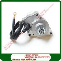 3 Bolt Upper Electric Starter Motor For 50cc 70cc 90cc 110cc 125cc 4 Stroke Electric Start Engine ATV Quad Go kart Buggy