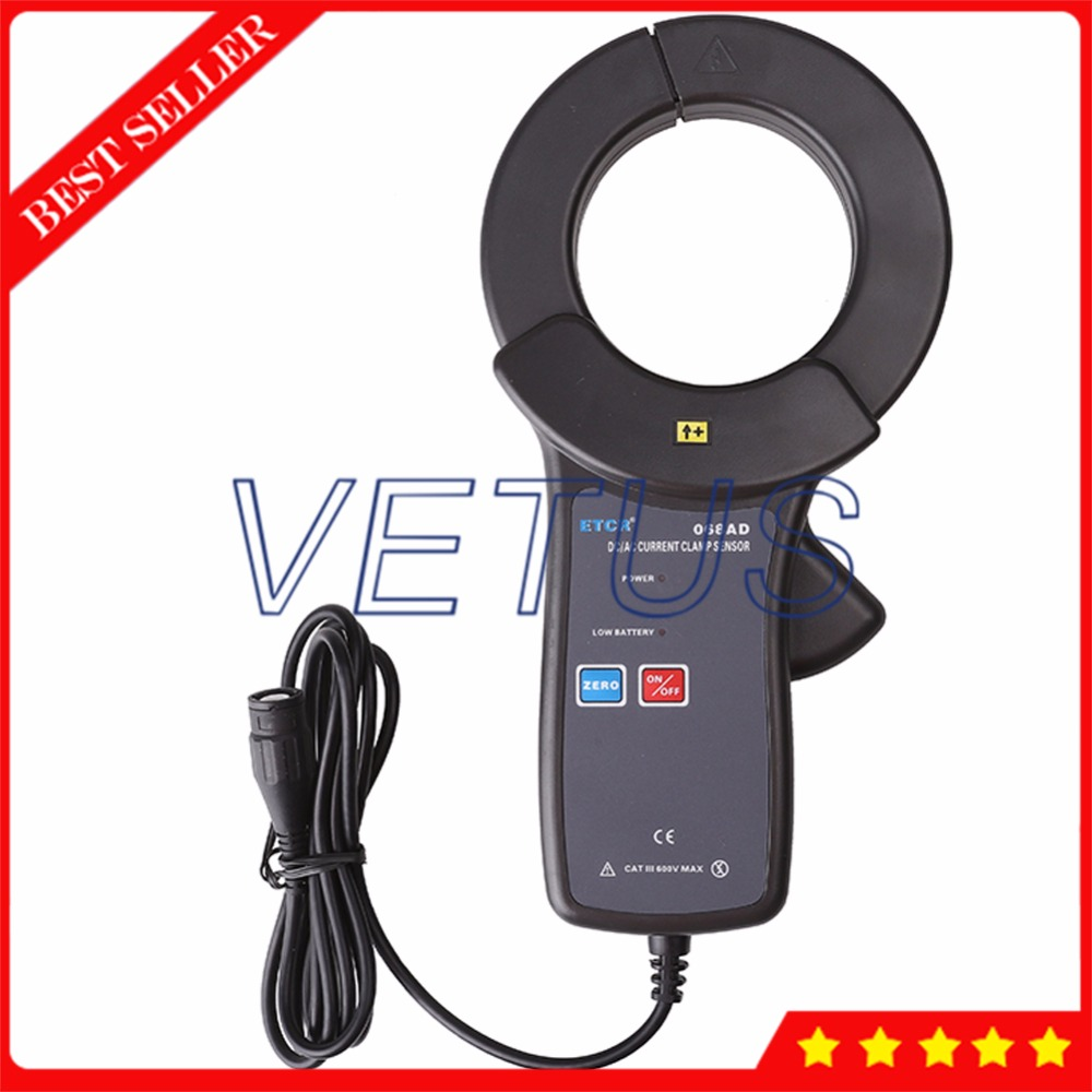 ETCR068AD Power factor current Sensor of AC DC Clamp Meter phase power energy tester measurement zipabox power current clamp 35a