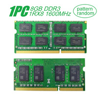 For Samsung 8GB DDR3 1RX8 PC3L 12800S 1600MHz Laptop Notebook Memory RAM 8G SO DIMM 1.35V CL11 204pin RAM