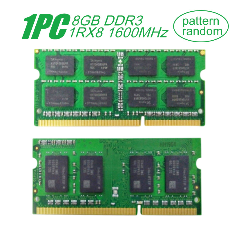 For Samsung SODIMM <font><b>8GB</b></font> <font><b>DDR3</b></font> 1RX8 PC3L-12800S 1600MHz 1.35V <font><b>Notebook</b></font> RAM 204Pin Laptop Memory RAM image