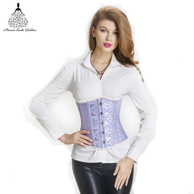 Corsé cintura trainer entrenador cintura sexy corsé Bustier corset steampunk gótico corsé de corsé de cintura de las mujeres entrenador