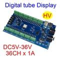 5 шт.  бесплатная доставка  36 каналов  DMX512  RGB контроллер с цифровым дисплеем  11 групп  RGB 36CH  DMX512  декодер  вход на DC5-36V