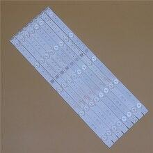TV LED Light Bars For TelefunkenTF LED43S27T2 RDL430FY LD0 10f Backlight Strip Kit LED Lamp Lens Band 5800 W43001 5P00 VER02.00