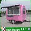 Long 220 CM Food Cart Trailer Machine With Umbrella