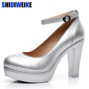 31eacbdf1 2019 fábrica de salida grande primavera señoras calzado casual tacones  gruesos zapatos de plataforma zapatos para niñas Europa mujer alta zapatos  de tacón ...