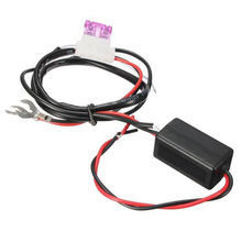 New Car LED DRL Relay Daytime Running Light Relay Harness Auto Car Controller On/Off Switch Parking Light Hot