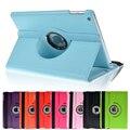 360 rotação estojo de couro pu para apple ipad air 5 inteligente capa ipad5 casos flip com função de suporte + Filme + caneta