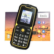 waterproof shockproof mobile phone power bank cheap China Cell Phones GSM FM Russian keyboard button PHONES H-mobile