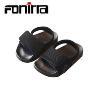 FONIRRA Summer New Korean Version Of The Grinder Paste Children's Sandals Comfortable Leather Fashion Boys And Girls Shoes 711