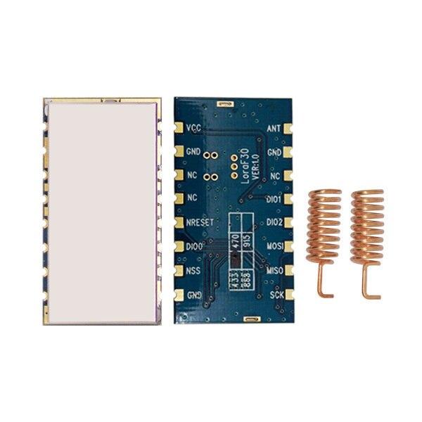 4pcs/lot Lora1276F30 - 500mW 915MHz / 868MHz LoRa Module | High sensitivity (-139dBm) sx1276 RF transceiver