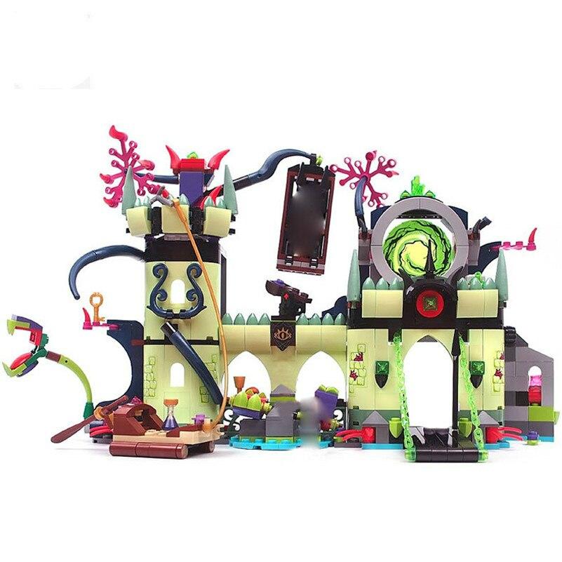 New Wizard Series King Castle Escape ABS Assemblage Kids Toys Building Blocks Set Friends Compatible s Hobbies Diy Model цена и фото