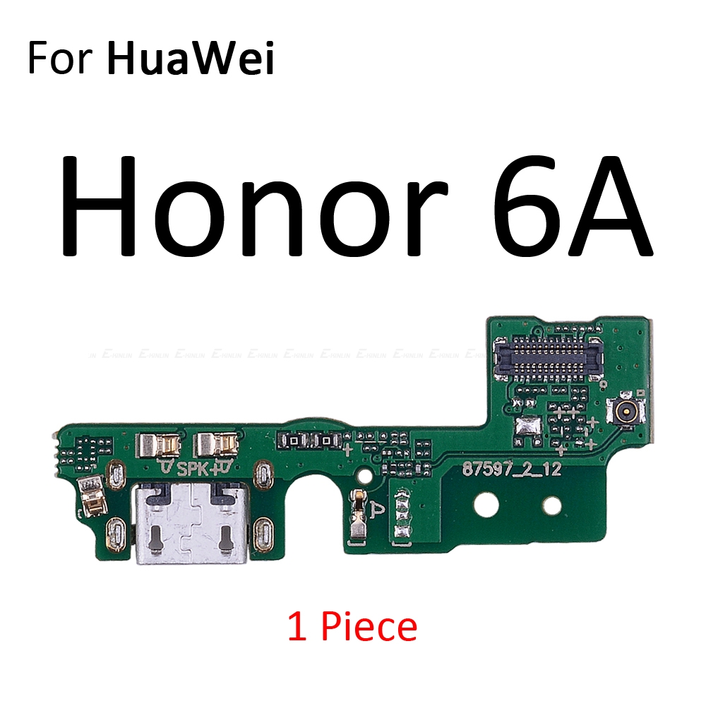 Image 4 - Charging Port Connector Board Parts Flex Cable With Microphone Mic For HuaWei Honor Play 8A 7A 7C 7X 7S 6A 6C 6X 5C Pro-in Mobile Phone Flex Cables from Cellphones & Telecommunications