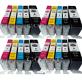 Совместимые чернила для Canon PGI-580XL CLI-581XL картридж для Canon PIXMA TR7550 TR8550 TS6150 TS6151 TS8150 TS8152 TS9150