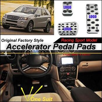 Litanglee Mobil Accelerator Pedal Pad Cover Olahraga Untuk BENZ MB ML320 ML350 ML450 ML500 ML550 ML63 Di 2005 ~ 2011 Pedal Throttle