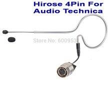 цена на Black Sing-Hook Omni-directional Headset Head Microphone For Audio-Technica  Wireless MIC system