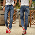 High Quality!the New Spring 2015 Men's Jeans Men's Cattle Depots Men Straight Jeans