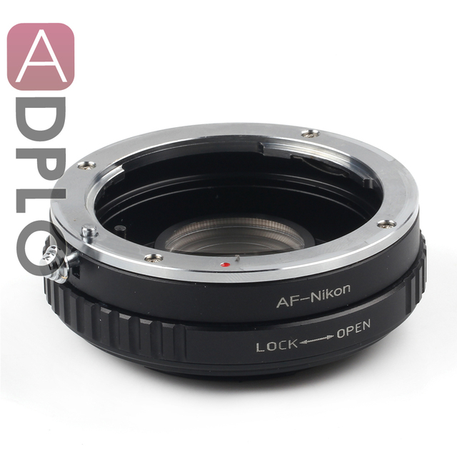 Pixco Optical adaptador terno para Sony Alpha Minolta AF Lens para Nikon D7100 D800 D600 D5100 D90 D80 Camera