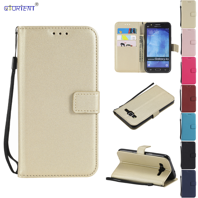 Flip Leather Case for <font><b>Samsung</b></font> <font><b>Galaxy</b></font> <font><b>A5</b></font> 2015 A500 A500F <font><b>A500FU</b></font> A500H Phone Cover for <font><b>Samsung</b></font> <font><b>A5</b></font> <font><b>SM</b></font>-A500 <font><b>SM</b></font>-A500F <font><b>SM</b></font>-<font><b>A500FU</b></font> Funda image