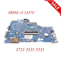 Laptop Motherboard For Dell Inspiron 3721 3521 5521 VAW00 LA 9104P CN 0760R1 0760R1 760R1 SR0XL i5 3337U DDR3L Main board works