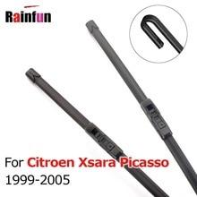 RAINFUN лобовое стекло автомобиля стеклоочистителя для Citroen Xsara Picasso 1999 до 2005 высокое качество дворники 26 и 26 дюймов 2 шт набор