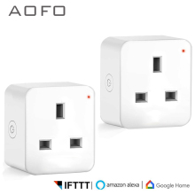 WiFi Smart Plug, Mini Outlet Smart Socket,Timing Function Control Your Devices from Anywhere, Works with Amazon Alexa and Google