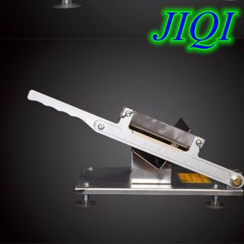 JIQI Commercial Stainless steel Manual Meat Cutter Machine for china food hot pot meat tools meat grinder Meat cutting machine stainless steel manual cut meat machine